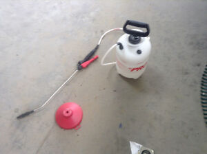 Weed sprayer. Used 3 times.