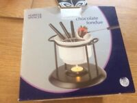 Marks and Spencer chocolate fondue set