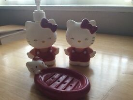 'Hello Kity' Bath set