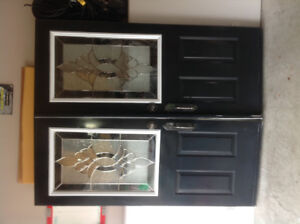 Double insulated steel front doors.    $300 OBO  TAKES THEM!!!