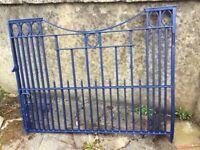 Very Good Set Of Heavy Entrance Gates