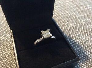 DIAMOND  RING   1.05 carat stone.