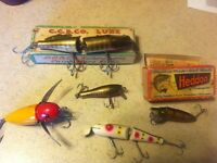 Wanted.Antique- vintage lures/ fishing tackle
