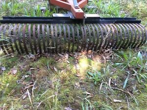 LANDSCAPE RAKE WITH 3 POINT HITCH