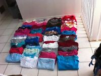 Bulk Lot Ladies Plus Size Clothes 2X-3X, Size 20-22, 108 items