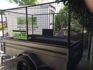 Cage Trailer for Hire North Brisbane - $50 per day Burpengary Caboolture Area Preview