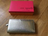 Genuine Gold Kate Spade 'Stacy' Wallet RRP £100