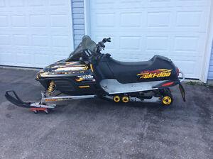 2001 SkiDoo MXZ 500 For Sale
