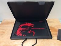 Msi thunderstorm gaming mouse pad RRP £70