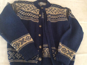 Hand knit from Norway, Norwegian sweater
