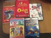 Assorted Musical DVD's
