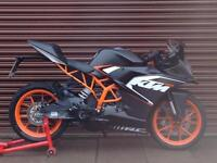 KTM RC 125 ABS 2016 SuperSport. Only 3206 miles. Nationwide Delivery Available.