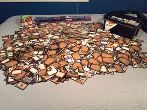 Huge 8, 000 MTG card Lot!!!!! Mythics, Cases, Deck Box!!!!!!