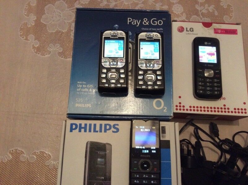 Job lot of fully working mobile phones