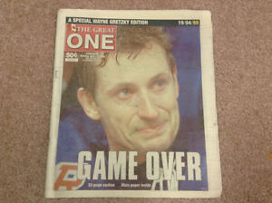 Wayne Gretzky The Great One Game Over