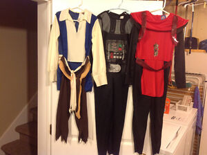For Sale: Costumes for Size 6-7 (Pirate, Darth Vader, Ninja)