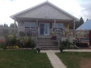 Water front property over looking the beautiful Bay of Chaleur