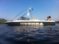 21ft Moomba Outback wake boarding boat