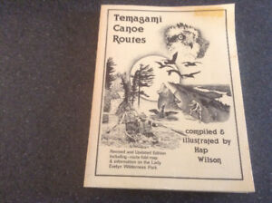 Temagami Canoe Routes by Hap Wilson