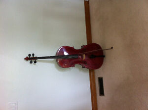 Stentor 3/4 Student Cello and bow