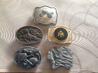 First Nations Inspired Beltbuckles