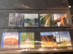 U.K. World Heritage joint issue April -2005 Stamps