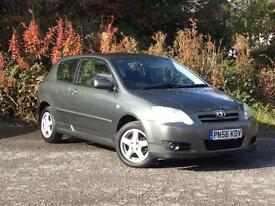 2006 Toyota Corolla 1.6 VVT-i automatic Colour Collection Grey 3-door hatchback