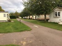 Large static caravans fully equipped at Brodie by Forres will suit workers