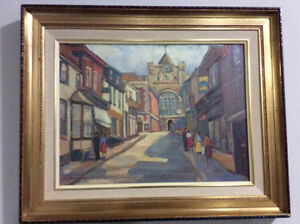 C.Roy Greenaway (1891-1972)Canadian Listed Vintage Oil 12x16