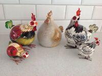 Chickens decorative.
