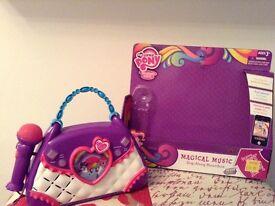 My Little Pony magical boom box