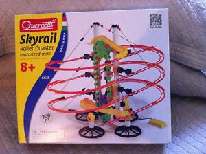 NEW - Skyrail Roller Coaster Building Set w/ Motorized Elevator