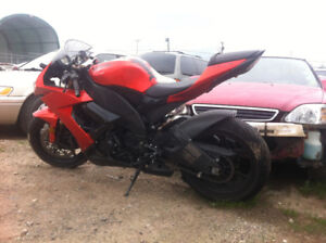 WRECKED zx10r for sale