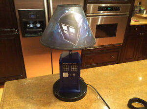 Dr Who Tardis Table Lamp Police Table lamp