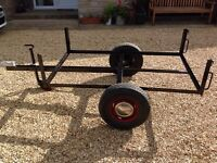 Chassis for 5' x3' car trailer