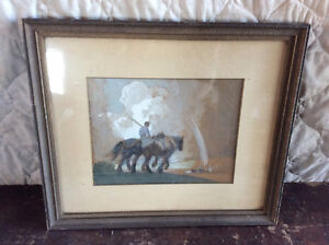 Rare Listed Canadian Artist Painting Sheldon Williams