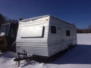 Looking for old house/travel  trailer