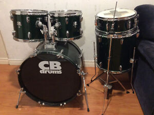 Drums and Pearl Double Kick Pedal
