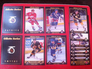 1991-92 Gillette series 75th nhl hockey partial set