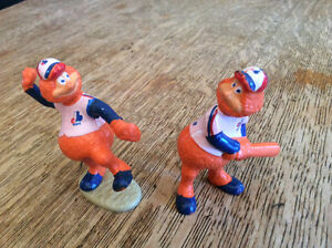 2 figurines youpee  EXPO  baseball vintage collectionneur AN 85