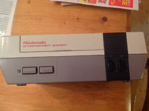 nintendo NES system. just system. works great