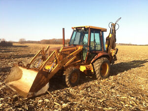 WANTED - USED BACKHOE