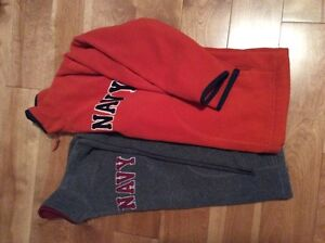 Two Old Navy fleece sweaters size small