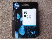 HP Black Cartridge (No 15)
