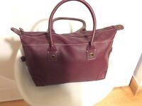Ladies bugandy bag