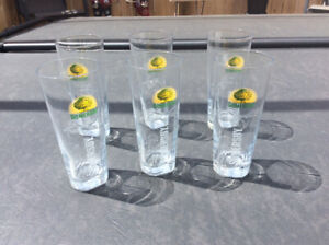 Six (6) Somersby glasses