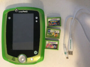 LeapPad2 with 3 games