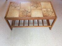 Vintage-Retro-Wooden coffee table