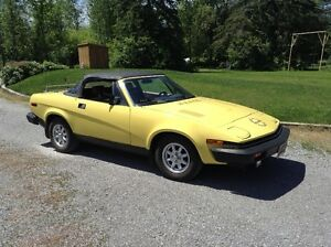 Classic TR-7 Convertible