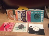25 60's pop,beat records great for starting collection, parties etc many in original sleeves lot2